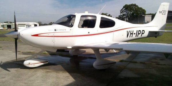 Cirrus advanced flight training aircraft