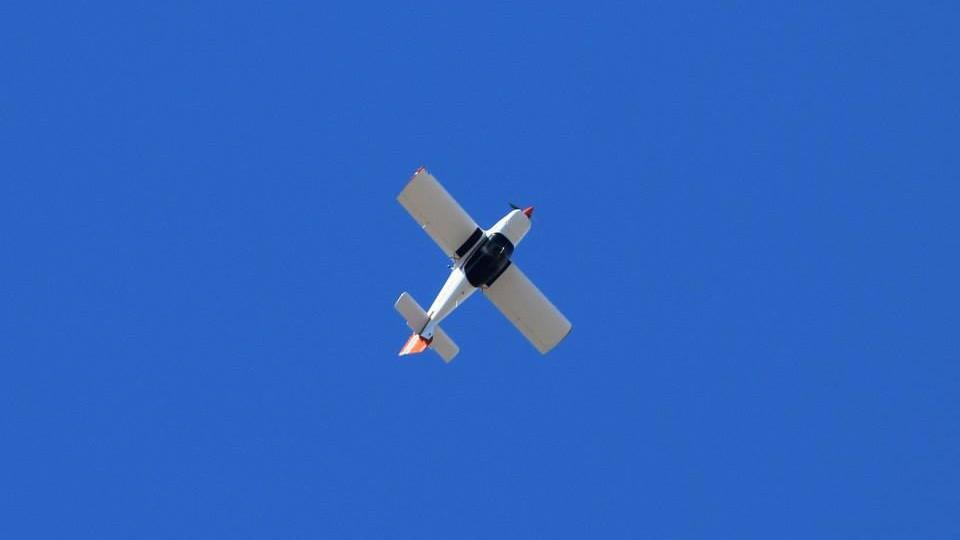Robin 2160 aerobatics