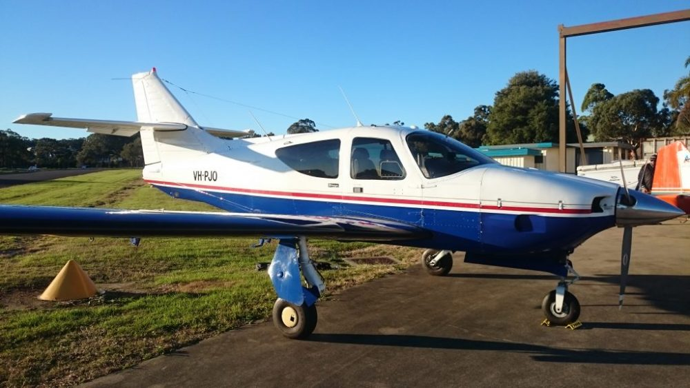 Rockwell Commander advanced flight training aircraft