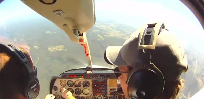 Spin Endorsement flight training over Sydney