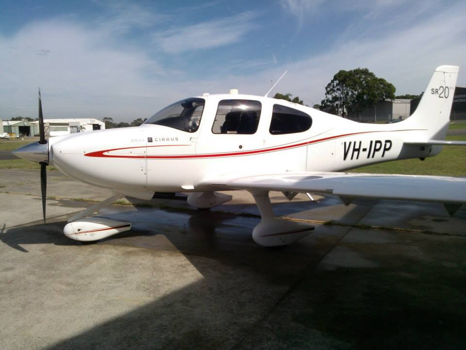 Cirrus luxury light aircraft