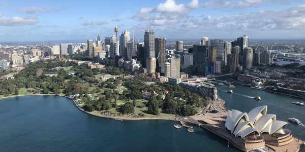 Sydney Harbour and CBD