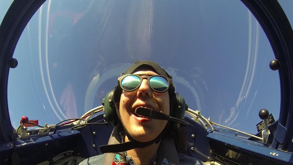 AAA Adventure and Scenic Flights Smiling Passenger